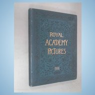 Rare Book Hard Cover Royal Academy Pictures 1901