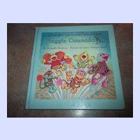 Children's Book Fraggle Countdown Muppets Jim Henson