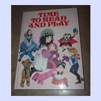 A Vintage Children's Book Time To Read Simply  Charming