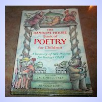 The Random House Book of Poetry