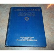 Garden Colour Book Sketches Notes by Margaret Waterfield