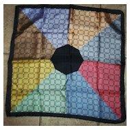 Geometric Nine Color All Silk Italy Ashear Men's Handkerchief