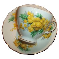 Royal Vale Bone China  Tea Cup Saucer  MIE