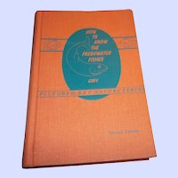 H.C. Book How to Know The Fresh Water Fishes Eddy Second Edition