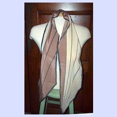 A Smart Vintage Designer Signed Wing Tip Vera Neumann Ladies Fashion  Scarf