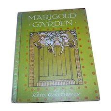 Children's Book Marigold Garden by Kate Greenaway