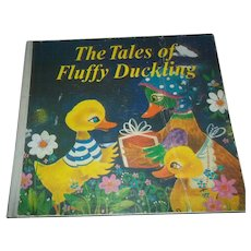 A Charming Children's Book The Tales of Fluffy Duckling Children's Book Illustrated
