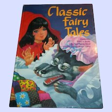 Children's Over Sized Book Classic Fairy Tales