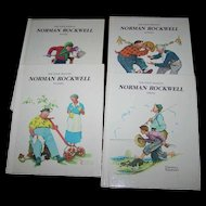 Set of 4 Norman Rockwell Books The Four Seasons