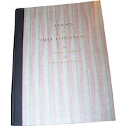 """Poetry Book Titled """" Poems of Two Continents  """" Groom, Bernard  I. Sutherland Groom"""