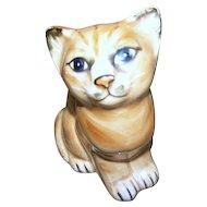Superb Seymour MANN Japan C. 1978 Pretty Kitty Cat Kitten Ceramic  Figurine