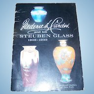Reference Booklet Frederick Carder And His Steuben Glass