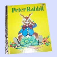 Children's Book The Tale Of Peter Rabbit A Little Golden Book  By Beatrix Potter
