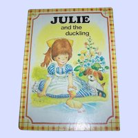 Children's book Julie and the duckling