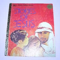 A Vintage Children's Book Stories Of Jesus C. 1980