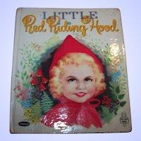 Whitman Children's Little Book  Red Riding Hood