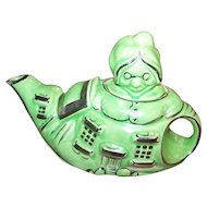 "Vintage ""There Was An Old Woman Who Lived In A Shoe LINGARD Teapot"