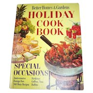 Better Homes & Gardens HOLIDAY Cook Book