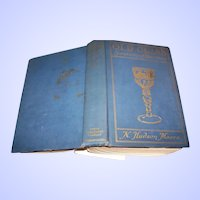 Hard Cover Old Glass Book  N. Hudson Moore C. 1935