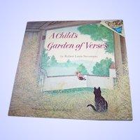 Soft Bound Booklet A Child's Garden of Verses Robert Louis Stevenson