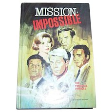 Hardcover Book  Mission Impossible The Priceless Particle  Authorized Edition  Talmage Powell
