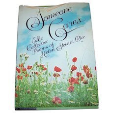 Someone Cares Verse Poetry Book Hard Bound