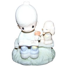 Charming Collectible Enesco Love Is Sharing Figurine