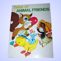 "Children's Book Oversized "" Tales of Animal Friends """