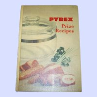 A Must for Any Pyrex Collector An  Advertising Hard Cover PYREX Prize Recipes C. 1953 Cookbook