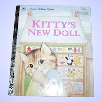 A Charming Children's Book Kitty's New Doll