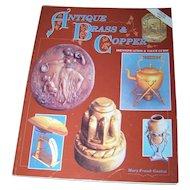 Antique Brass & Copper ID Guide Value Guide Collector Book