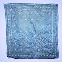 Vintage Designer Vera Neumann Signed Small Scarf Handkerchief