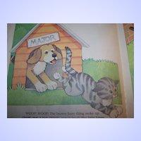 Children's Book The Curious Kitten By Linda Hayward