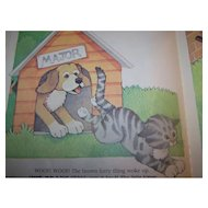 Children's Book The Curious Kitten By Linda Hayward