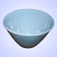Fire King Oven Ware Turquoise Blue Mixing Bowl