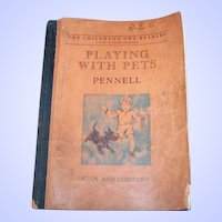 Soft Cover Book Playing With Pets Pennell Ginn and Company
