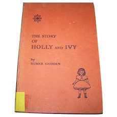 EX Libra Hard Cover Book The Story of Holly and Ivy