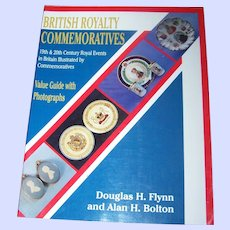 """Collector Reference Book """" British Royalty Commemoratives"""