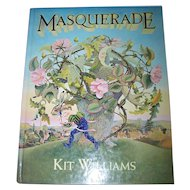 "Hard Cover Book "" Masquerade "" Kit Williams Hidden Hare"