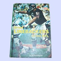 Collectible Book Great Linebackers of the NFL  Kaplan