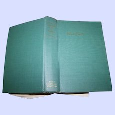 Collectible Vintage Hard Cover Book The Complete Poems of Robert Frost C. 1964