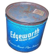 Edgeworth Pipe Tobacco Tin Can Larus & Brother Richmond VA USA