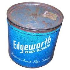 Edgeworth Pipe Tobacco Tin Can Larus & Brother Richmond VA USA