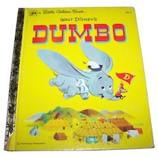 Walt Disney's Dumbo  WDP A Little Golden Book