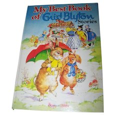 A Lovely Hard Cover  Children's Book My Best Book of Stories Enid Blyton