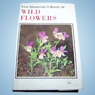 The Observer's Book of Wild Flowers C. 1973