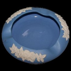 ECanada Made In Canada Art Pottery Medium  Blue Ashtray