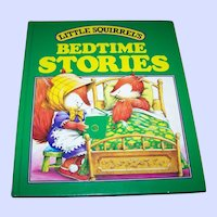Little Squirrel's BEDTIME Stories Collectible Children's Book