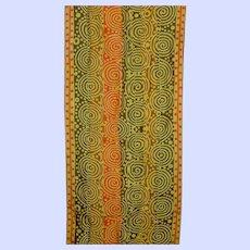 OP ART Designed Vera Neumann Lady Bug Signature Ladies Scarf Wearable ART