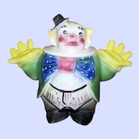 Collectible Vintage Maurice of California Pottery Clown Cookie Jar